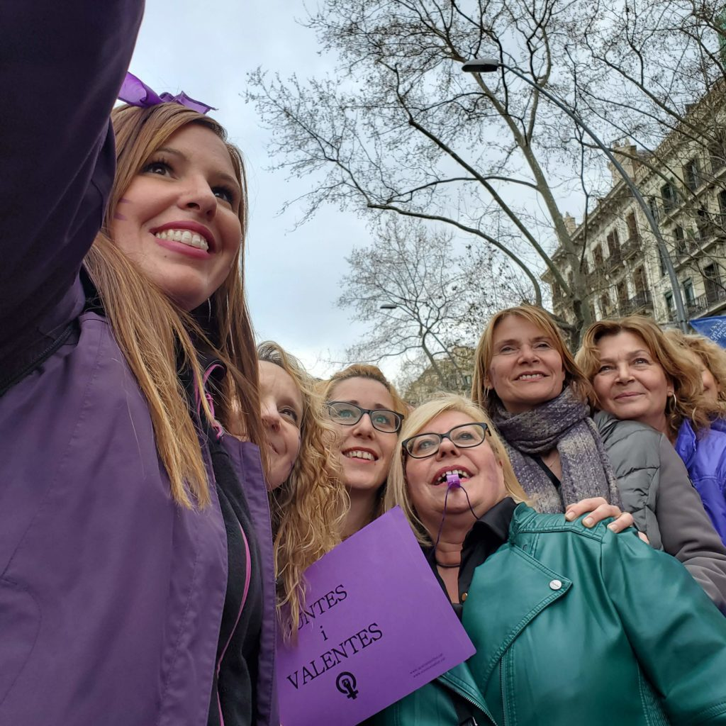 Feminist selfie