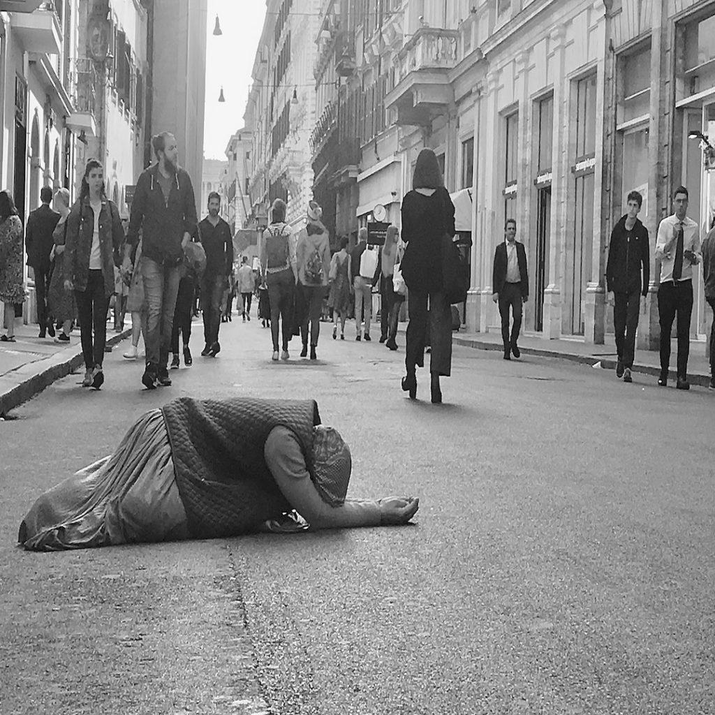 lying Beggar